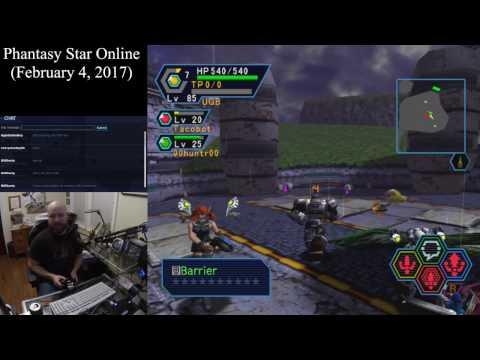 Phantasy Star Online (February 4, 2017) Sega Dreamcast Online Multiplayer [w/ Commentary]
