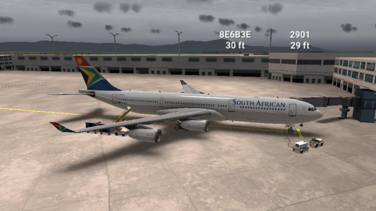 [Rortos Event#117]JOBIM EVENT South African Airways A340 Johannesburg-Rio de Janeiro {8h50min}