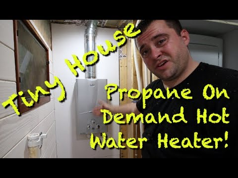 Tiny House Propane On Demand Hot Water Heater