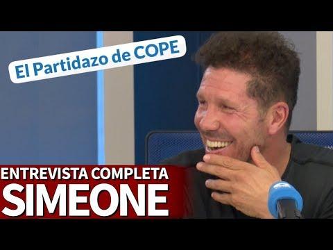 Entrevista completa al Cholo Simeone en el Partidazo de COPE | Diario AS