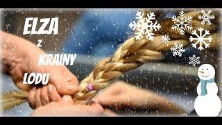 ELZA Z KRAINY LODU - Najlepsze fryzury dla dzieci