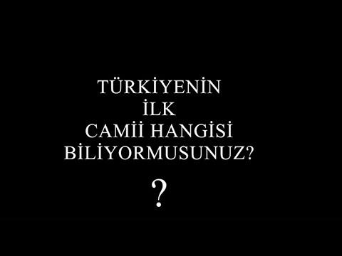 Download Türkiyenin ilk camisi EBU MENUÇEHR CAMİ. Yasin Yalçın Hoca