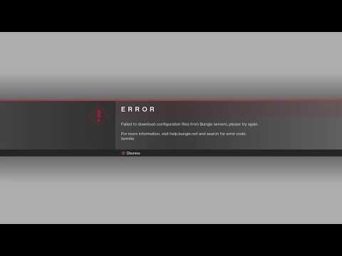 Destiny 2 Beta - Termite Error (Solution: Keep Trying! - Loading Screen Animation)