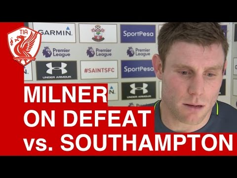 Southampton 1-0 Liverpool - James Milner's Post-Match Interview