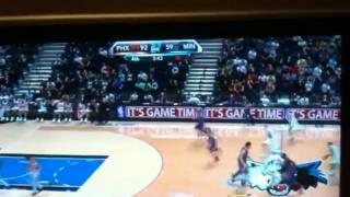 NBA 2k10 Xbox360 啦啦隊比賽中還在中場跳舞!!
