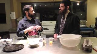 The Rabbi & The Chef - Chanukah Episode: Latkes (potato Pancakes)