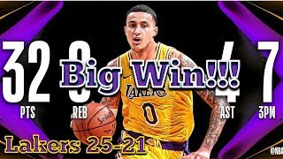 Lakers Beat The OKC Thunder in Overtime 138-128, Kyle Kuzma 32 Pts, Ivica Zubac Career High 26 Pts