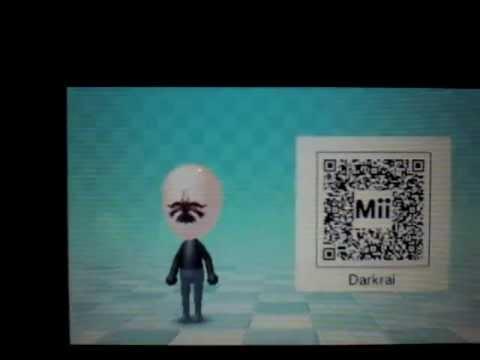 Qr Code Mii Darkrai Youtube
