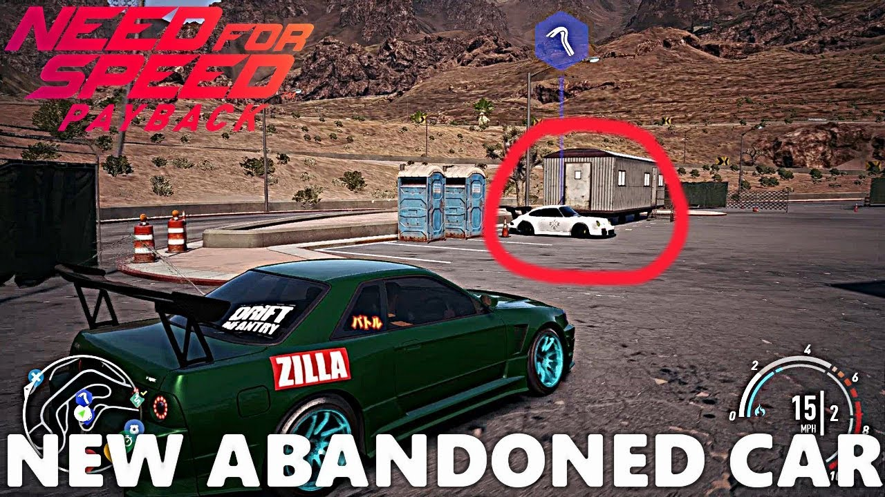 46c73049aef Need For Speed Payback: NEW ABANDONED CAR LOCATION! Widebody Porsche 911
