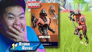 NEW SKIN * LEGENDARY * OF THE OPPRESSOR IS AMAZING!! | FORTNITE