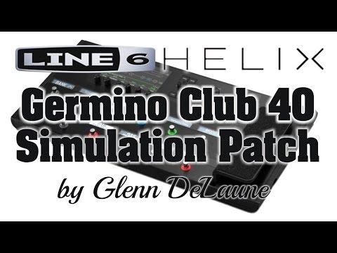 Line 6 Helix Germino Club 40 Amp Simulation Patch  - by Glenn DeLaune