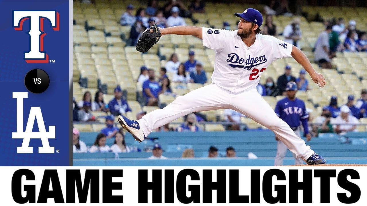 Download Rangers vs. Dodgers Game Highlights (6/11/21)