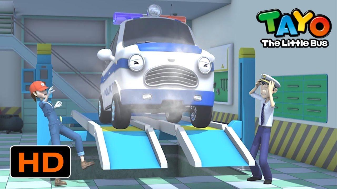 Tayo Bahasa Indonesia Spesial l #16 Mobil polisi Pat sakit! l Tayo Bus Kecil