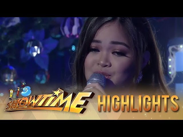It's Showtime: Janine Berdin sings 'Pasko Na Sinta Ko'