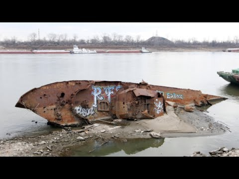 Where is the Mississippi River water going? | Going DRY not long after historic floods