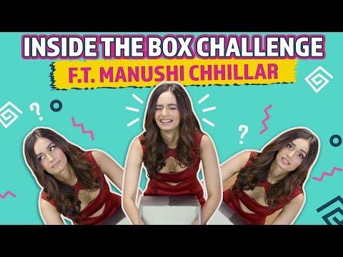 Inside the box challenge FT. Manushi Chhillar | Bollywood | Pinkvilla
