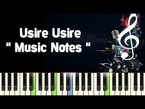 Usire Usire (huccha) Sudeep Piano Notes /Midi File /Karaoke