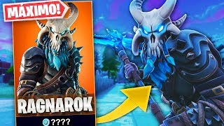 MY FIRST PARTY WITH THE LEGENDARY SKIN *RAGNAROK* TO MAXIMUM IN FORTNITE: Battle Royale!