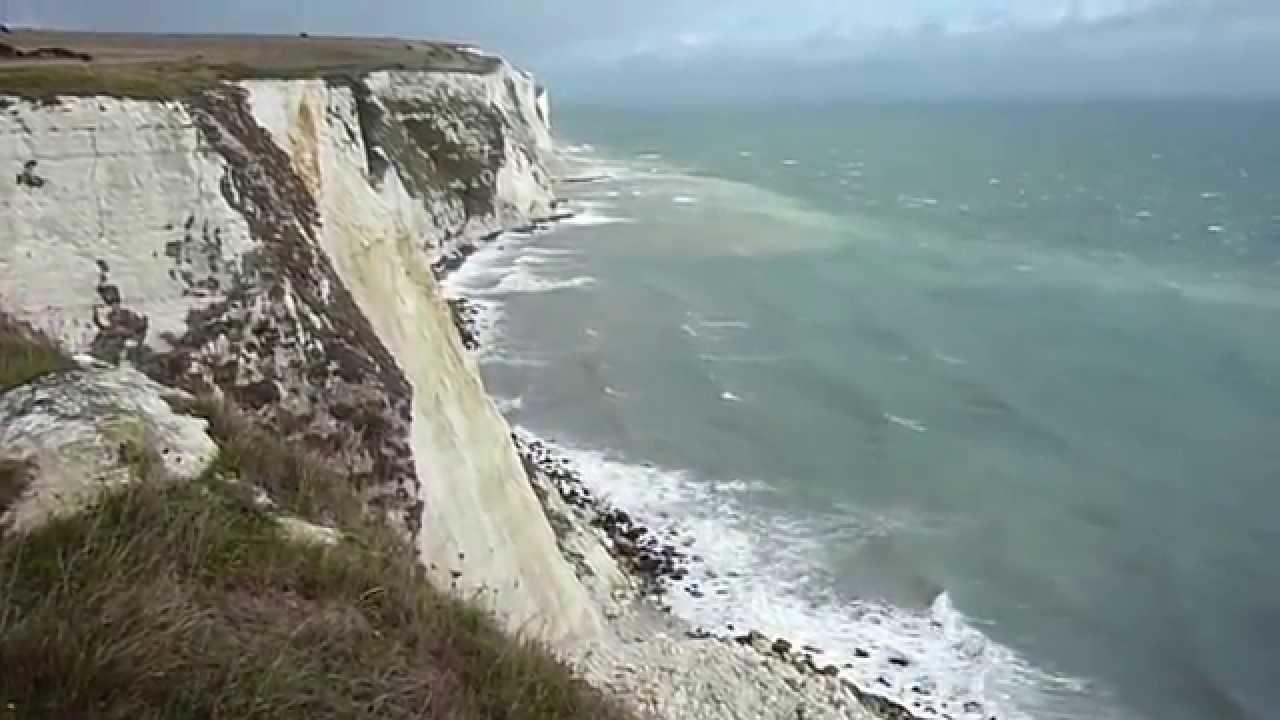 The White Cliffs Of Dover Impresive Light And Waves September