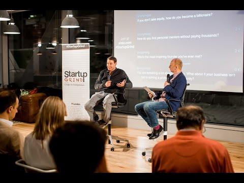 Founder & CEO of MassChallenge, John Harthorne at Startup Grind London