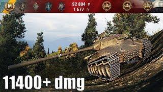 TVP T 50/51 ЛУЧШИЙ ДАМАГЕР НЕДЕЛИ  11400+ dmg 🌟🌟🌟 World of Tanks лучший бой