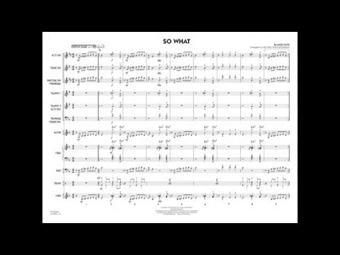 So What By Miles Davis/arr. Michael Philip Mossman