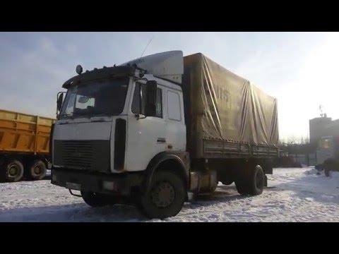 Видео-обзор: Маз 533603-221 грузовик тентованный (от «Трак-Платформа»)