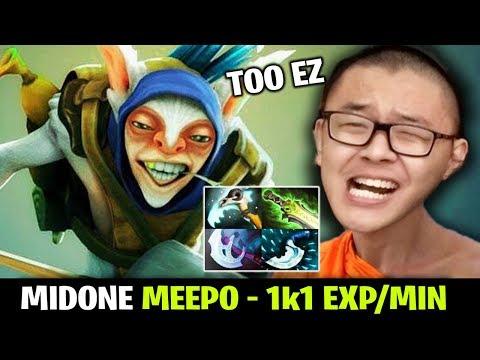 Midone Meepo He Can Reach 1k1 Exp Per Minute