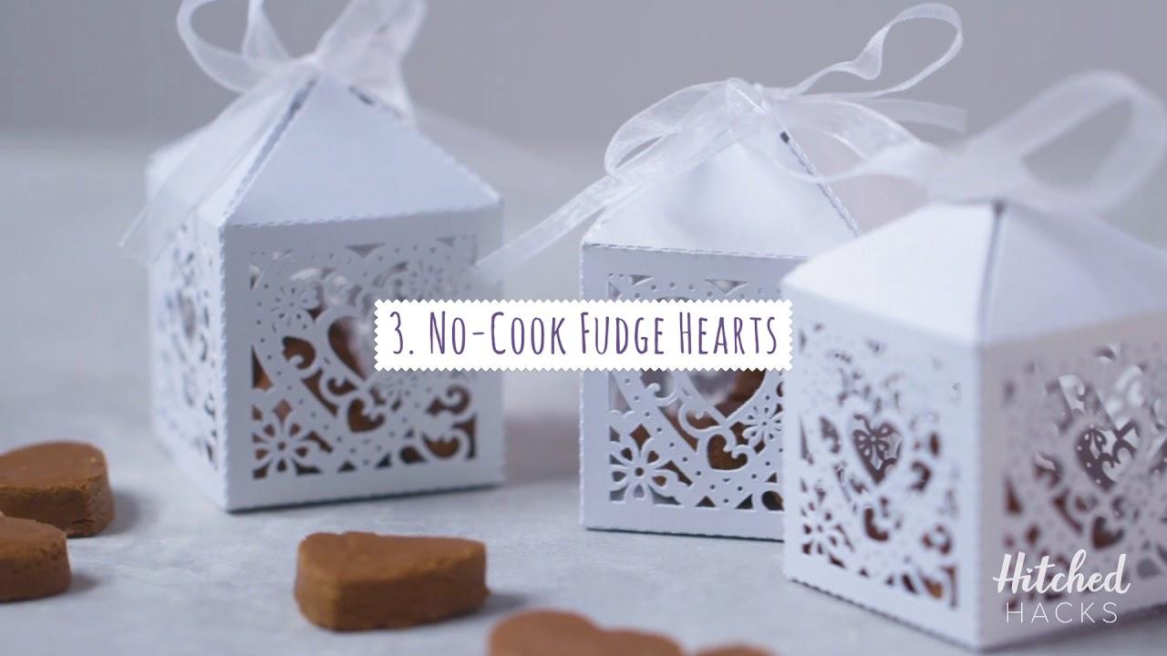 Hitched Hacks 3 Diy Food Wedding Favour Ideas
