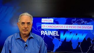 Especial: os candidatos e a dívida. William Waack comenta