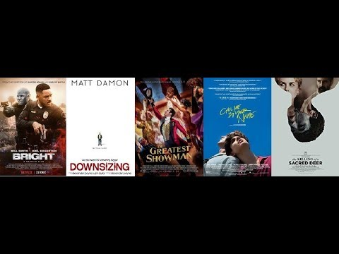 AJ's Movie Reviews: Bright, Downsizing, Greatest Showman, Call Me By Your Name & More!(12-23-17)