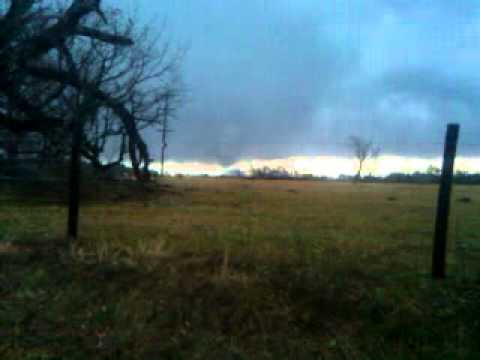 Dec 23, 2009 Tornado, Longview Texas