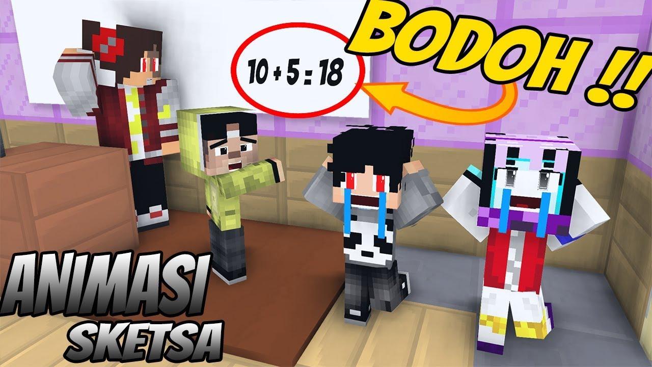 Download Lucu erpan ! Kisah disekolah movie - Kocak ( Animasi Minecraft Indonesia )