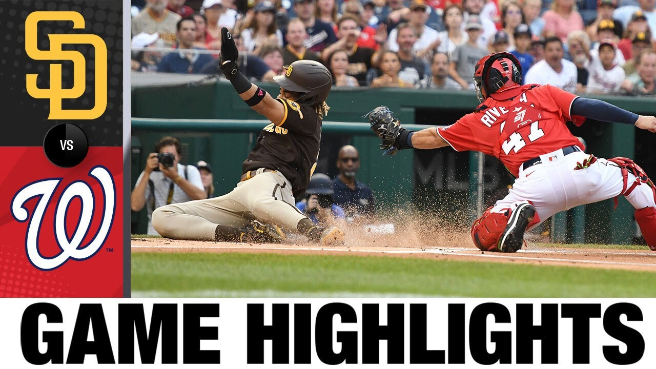 Download Padres vs. Nationals Game 1 Highlights (7/18/21) | MLB Highlights