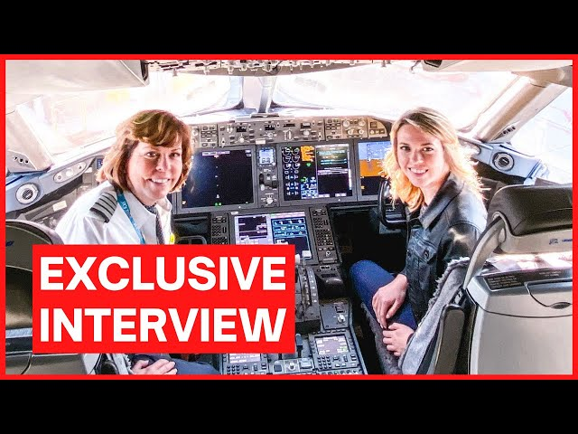 INSPIRING Q&A with MOTHER & DAUGHTER PILOTS | American Airlines 787 Captain & Envoy First Officer