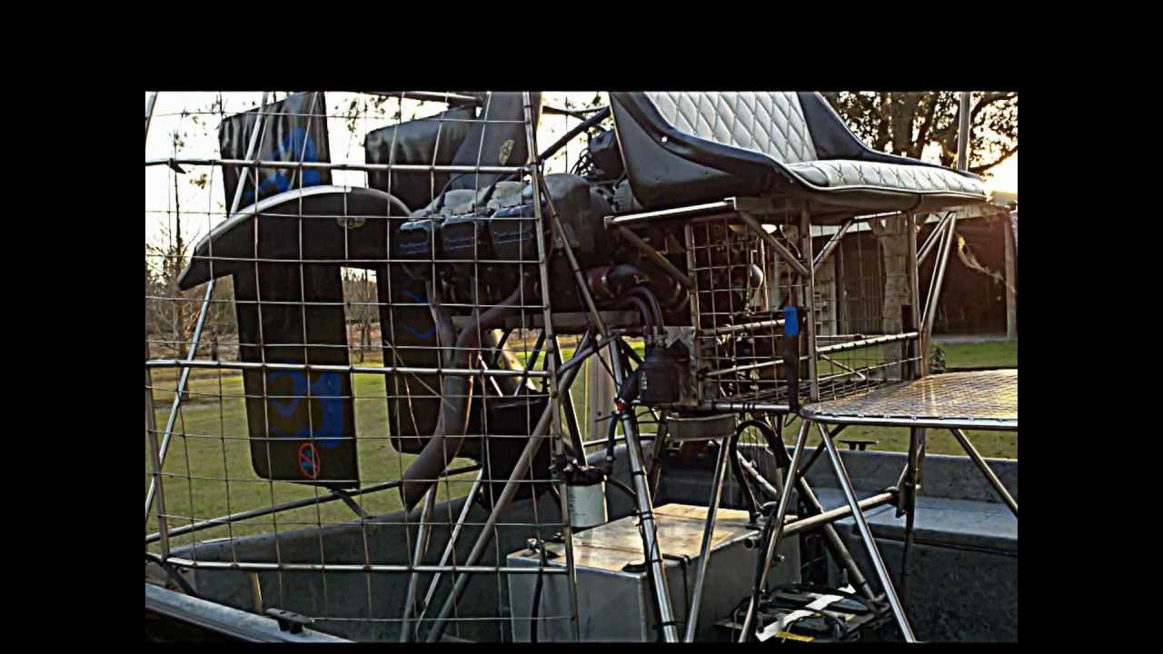 AIRBOAT LAKE CITY, Fl - For Sale Airboat Aircraft Engine Plus