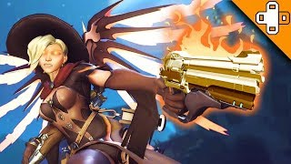 ITS MERCY! RUN! Overwatch Funny & Epic Moments 806