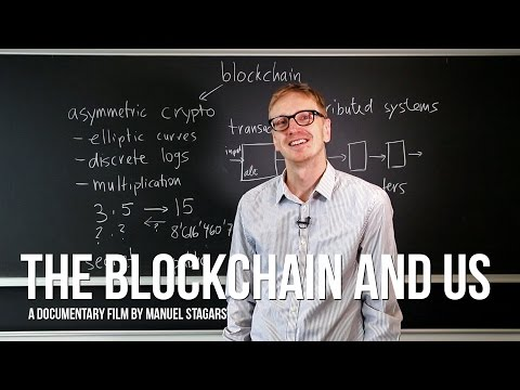 The Blockchain and Us: Roger Wattenhofer, Professor at ETH Zurich, explains blockchain and bitcoin