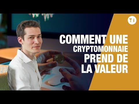 COMMENT UNE CRYPTOMONNAIE PREND DE LA VALEUR ?