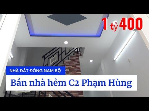 Chinh chủ Bán nhà Bình Chánh, hẻm C2 Phạm Hùng xã Bình Hưng huyện Bình Chánh, giáp ranh Quận 8