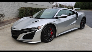2017 Acura NSX Technical Review
