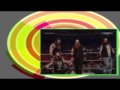 WWE Roman Reig. Spears Brock Les. & Wyatt Familyy Attacks Full HD