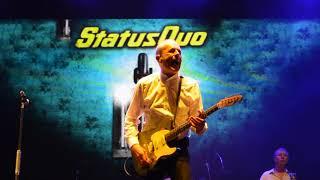 Status Quo Down Down Rewind Festival Perth Scotland 22 7 18