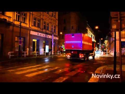 VietPortal.cz - Tàu hỏa trật đường ray gây tai nạn tại Praha - 15.07.2015