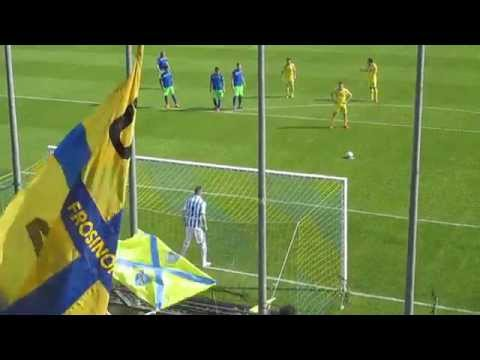 Frosinone vs Pescara 2 : 1 - Gol di Arturo Lupoli