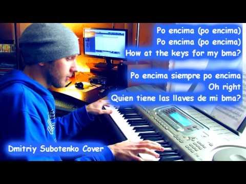 KARAOKE Arcangel - Po' Encima ft  Bryant Myers (Piano Cover)