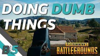 Some Of The Dumbest Matches Become The Best...PUBG Xbox One X Duos Walkthrough