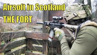 The Bridge Game, Airsoft War At The Fort In Scotland Hd