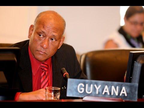 Guyana diplomat Bayney Karran