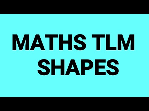 Maths working model,  2d Shapes activity